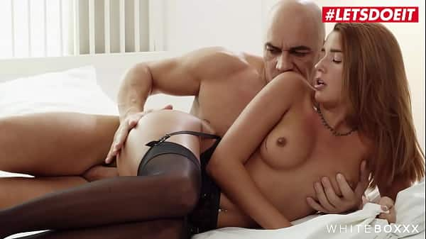 WHITE BOXXX – Agatha Vega and Christian Clay – Hot Latina Takes It Deep And Hard From Passionate Daddy